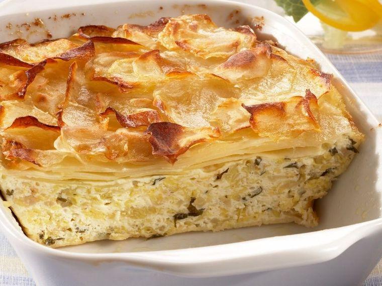 Lasagna cu brânză și varză, gata într-o oră