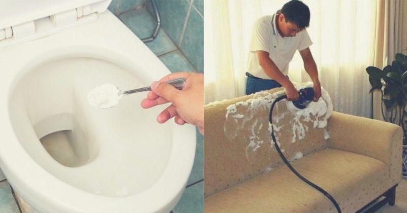 Bicarbonatul de sodiu, Regele Curățeniei – 22 moduri de a-l folosi în gospodărie