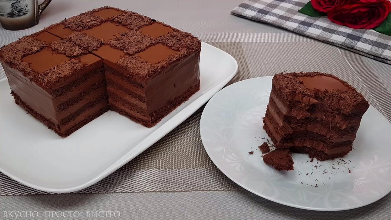 Rețetă fără făină, pentru iubitorii de ciocolată – Tort de casă rapid și delicios, gata imediat